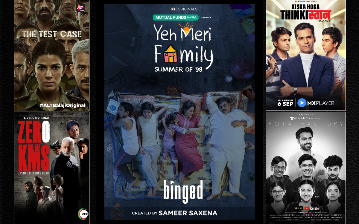 Top Indian Web Series Most Popular